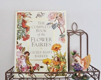 The Complete Book of Flower Fairies + fairy figurine
