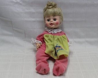Vintage Lullabye and Good-Nite Plastic Infant