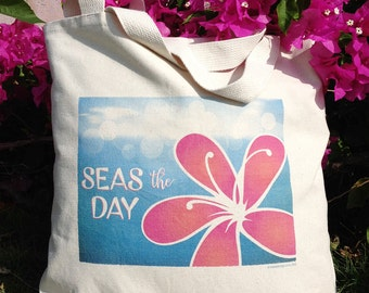 Tropical Tote - Seas the Day