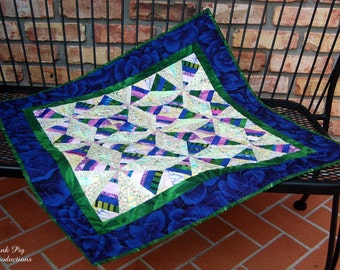 Scrappy Diamonds Wallhanging