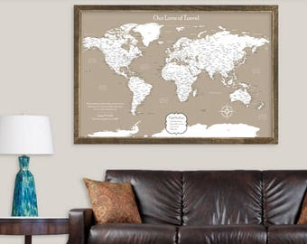 Map decor etsy gumiabroncs Gallery