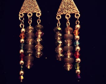 BoHo   Chandelier Earrings