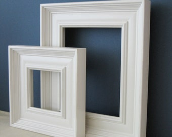 20x30 Wood Picture Frame / Empire Style / Black, White, Gray, Brown