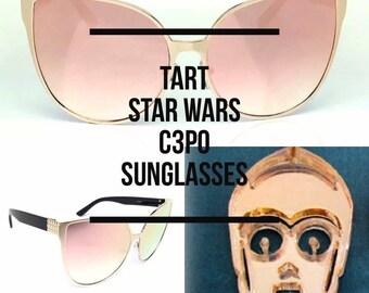 Custom Star Wars C3PO Sunglasses by Tart