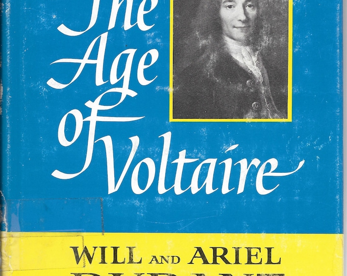 The Story of Civilization IX: The Age of Voltaire 1965 Eighth Printing