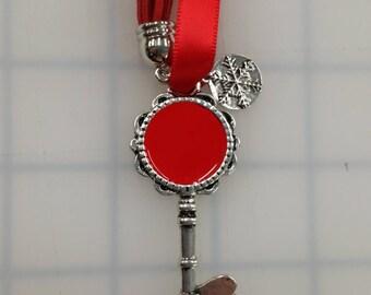 Santa Key Keychain