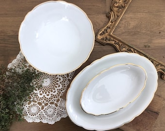 "Serving dishes set ""Lace"""