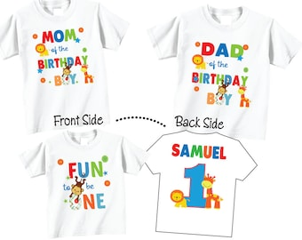 First Birthday Shirts For Mom And Dad Kamos T Shirt