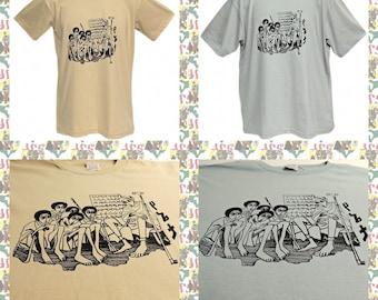 Ethiopian School [Made in ETHIOPIA]T-Shirt  (roots reggae dub rastafari africa ethiopia jamaica haile selassie i)