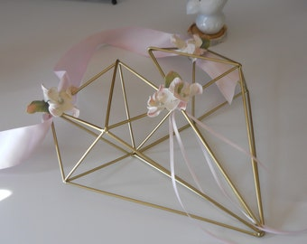 Flower Girl Bouquet Geometric