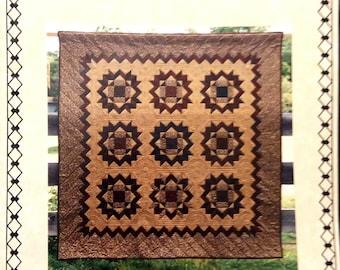 SAGEBUD DESIGNS ''Friendship  Wheel '' By Coral Love Quilt Pattern