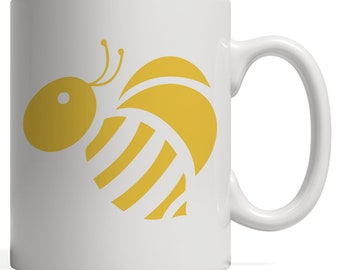 Bee Mug - Funny Beekeeper Design Graphic For Beekeepers Or Bees Lover Beekeeping The Queen And Honey! Great For Anyone Bees Keeper Living