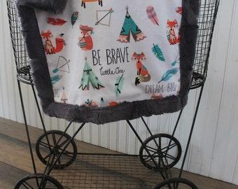 Baby blanket, boy blanket, minky blanket, boy baby blanket, Lovey blanket, 18 x 18, baby shower gift