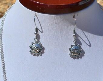happy sun earrings