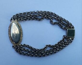 Connie Engraved bracelet