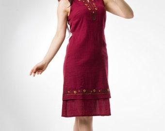 Work Dresses for Women, Gauze Dresses, Embroidery Summer Dresses, Reto Vintage Dresses, Kleid Vintage Dresses