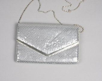 Silver 80s bag