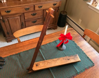 Antique Child's Ice Scooter