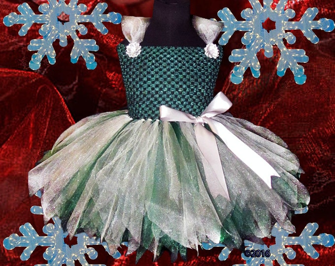 Hunter Green and Silver Dress or Skirt