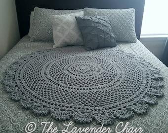 Ring Around the Rosie Mandala Blanket Crochet Pattern *PDF FILE DOWNLOAD* Instant Download
