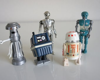 Vintage Kenner Star Wars Droid Lot (5)