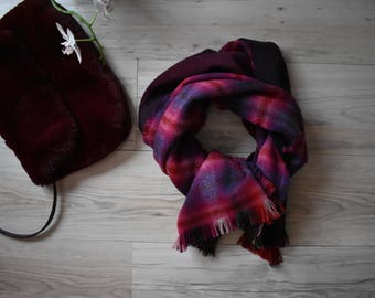 Colored scarf