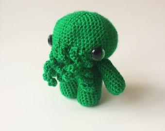 Cthulhu HP Lovecraft Horror Geek Plush Monster