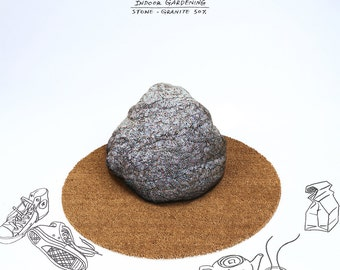 Stone beanbag - granite small  - Free shipping world-wide
