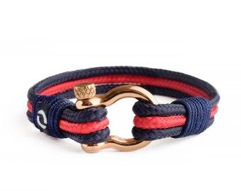 Blue Bracelet / Gold Bracelet / Gift for him / Wrap Bracelet / Gold Bracelet / Birthday present / Daughter Gift / Wrap Bracelet / Bracelet