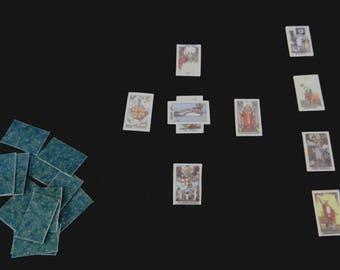 Miniature Deck of Tarot Cards