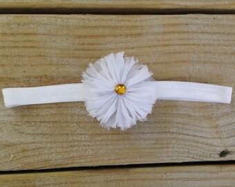 Daisy Baby Headband