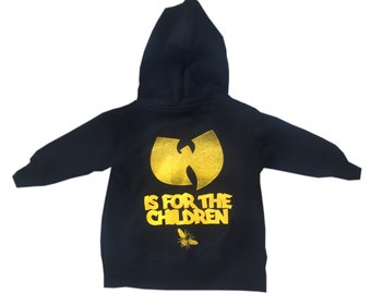 wutang is for the children zip up hoodie for babies and toddlers