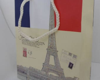 "sac cadeau motif ""Tour Eiffel"""