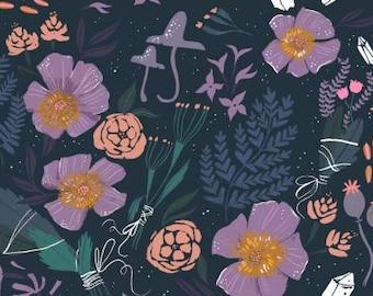 Magik Floral in Multi - Magik - Dear Stella quilting cotton fabric