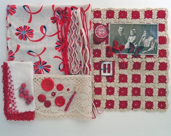 inspiration kit No059 - red family