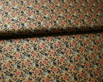 Thimbleberries  Quilt Fabric - Old World Comfort - Gold Vine Print- By the Yard