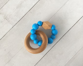 baby teether, teething toy, silicone teether