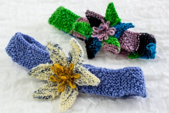 Knitting Patternbaby Headband Pattern Flower Headband Pattern