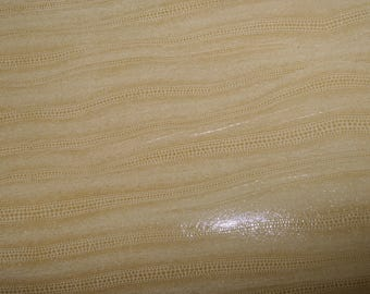 """Leather 8""""x10"""" Cream LIZARD SPINE Cowhide 2.5 oz / 1 mm PeggySueAlso™"""