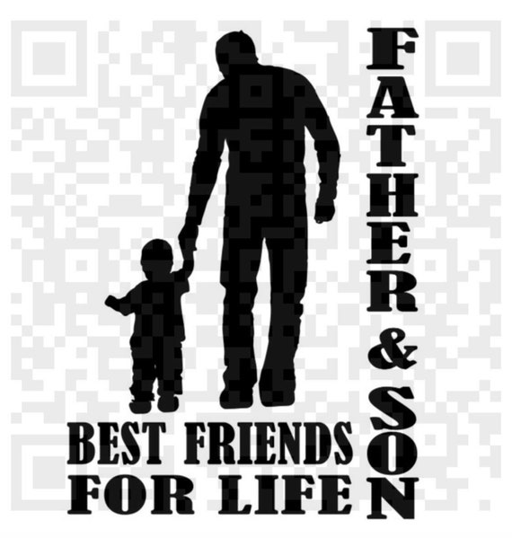 Father & Son Best Friends for Life PNG, SVG, Father's Day Svg, Print and Cut File, Digital File, Jpeg, Cricut, Silhouette PNG