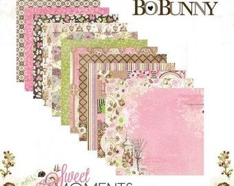 "BoBunny ""Sweet Moments"" Paper Set"