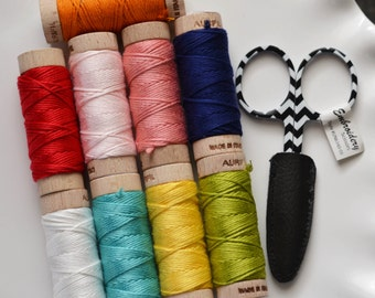 Aurifloss Embroidery Floss Pack with FREE scissors!