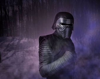 Kylo Ren Costume, Sleeves Only, Star Wars, Cosplay, Made To Order