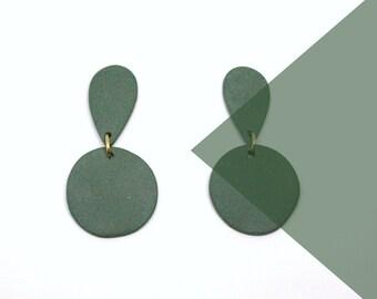 Friendship earrings. Porcelain, Ceramics
