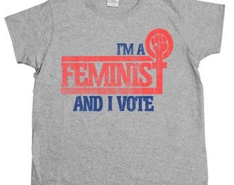 Feminist Voter -- Women's T-Shirt