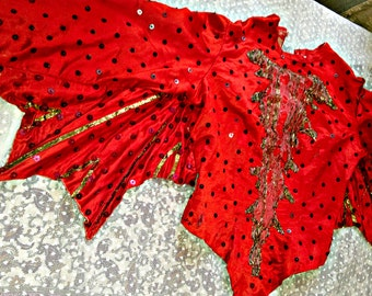 Red ballet costume