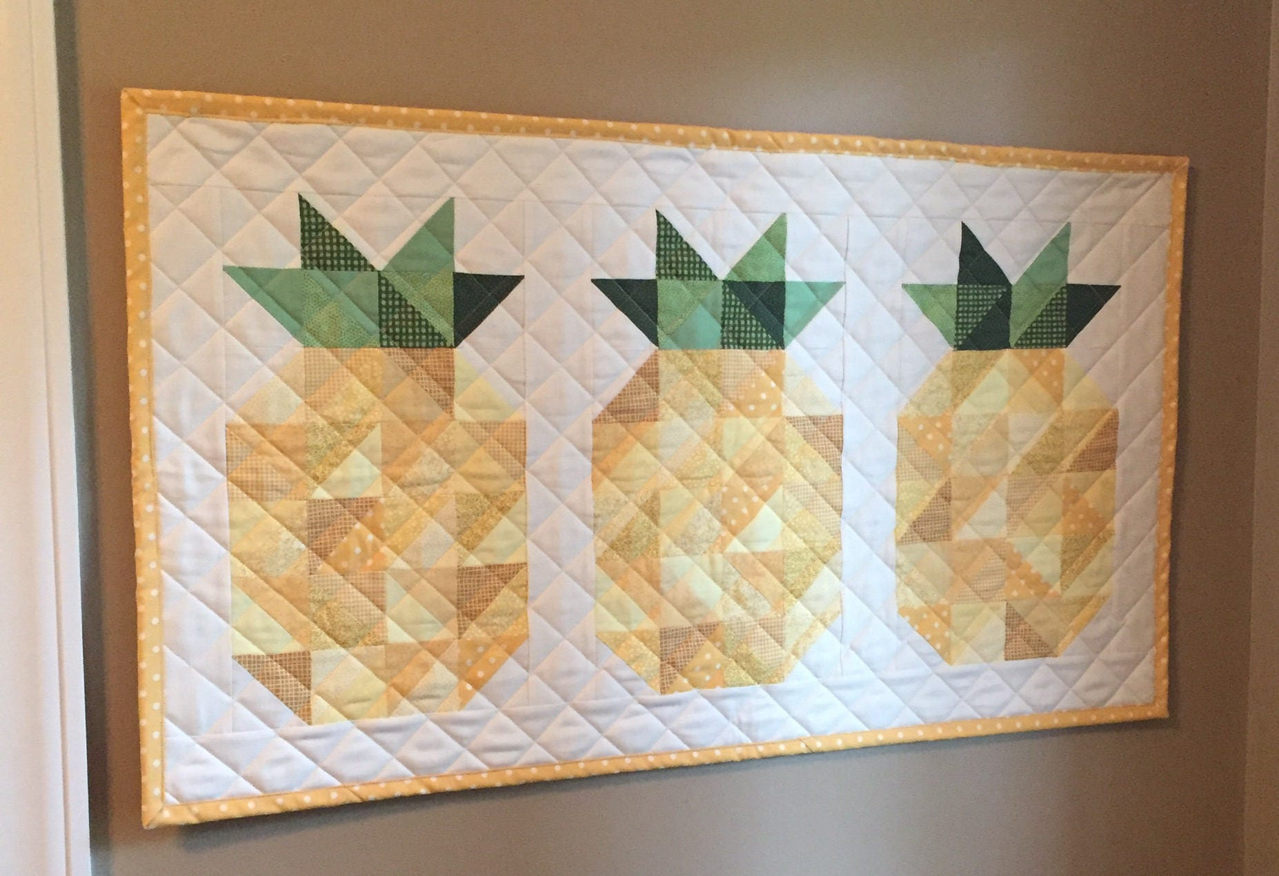 A Pineapple Welcome Quilt Pattern PDF Quilt Pattern