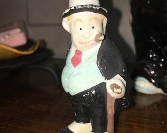 Vintage Cigar Figurine