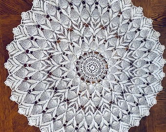 Hand Crocheted Table Center