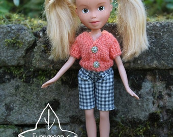 Repainted doll 124 by EvergreenDollsCo - OOAK made under rescued doll